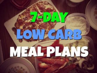 7 Days Meal Plan For Diabetics